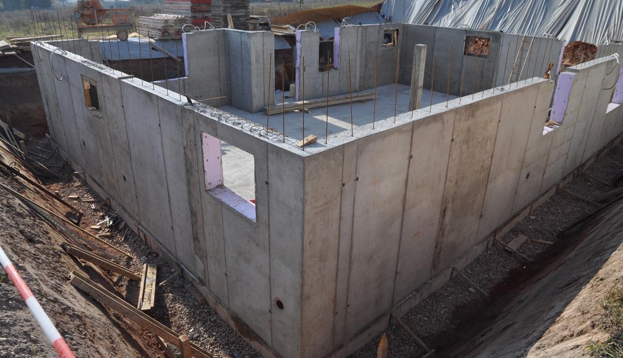 Betonbouw kelder