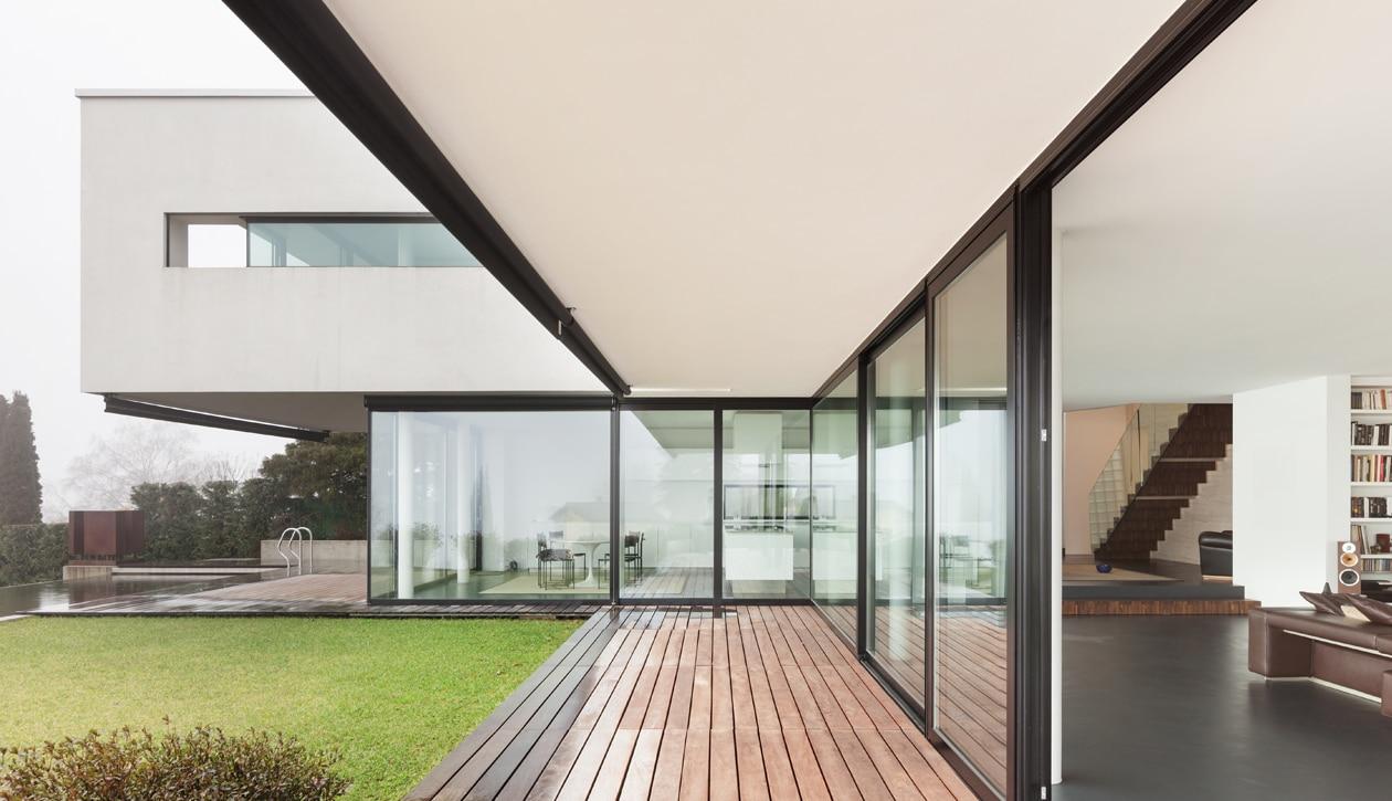 Moderne prefab woning in beton
