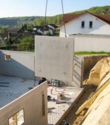 voorbeeld prefab betonbouw