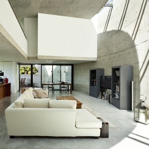 Realisaties en prijs advies betonbouw - Interieur moderne inspirant piliers en beton ...