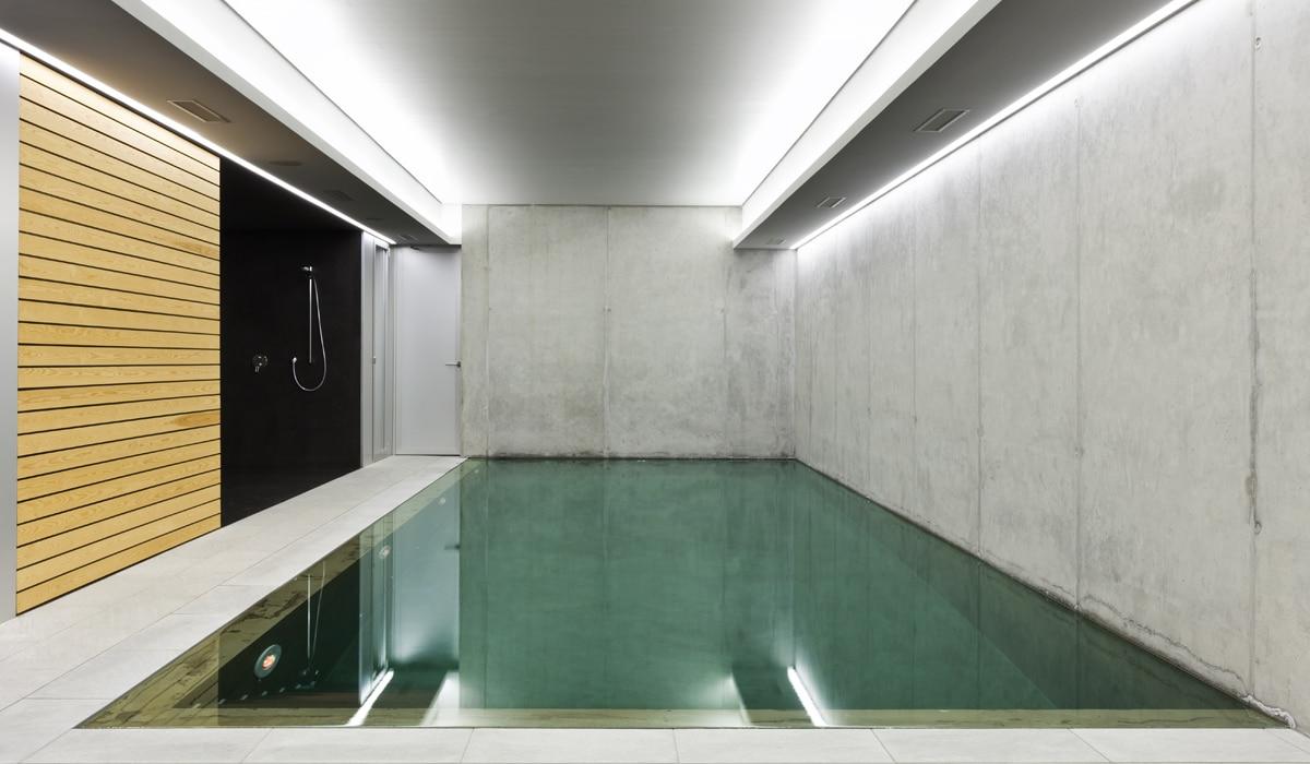 Betonbouw zwembad