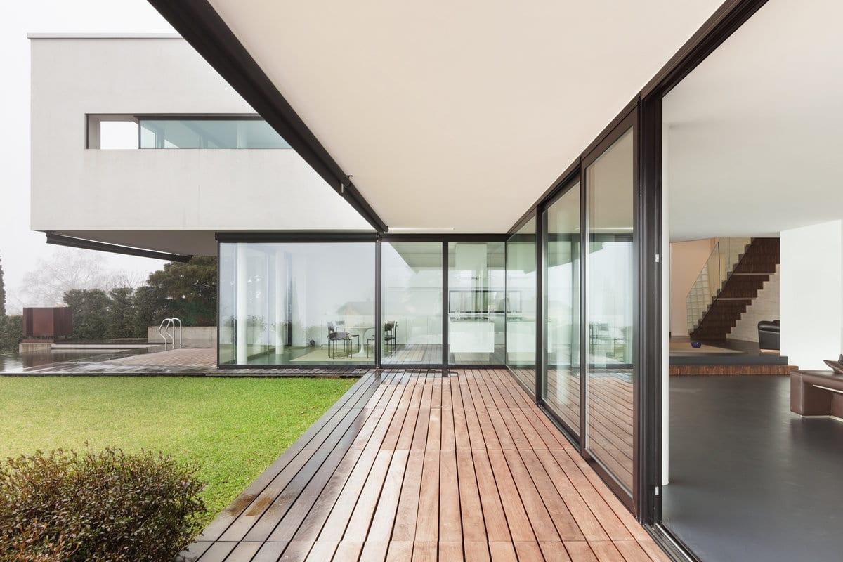 gevelafwerking betonbouw woning